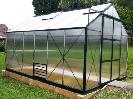 Greenhouses NZ | Hunkin Garden Titan series | Glasshouses