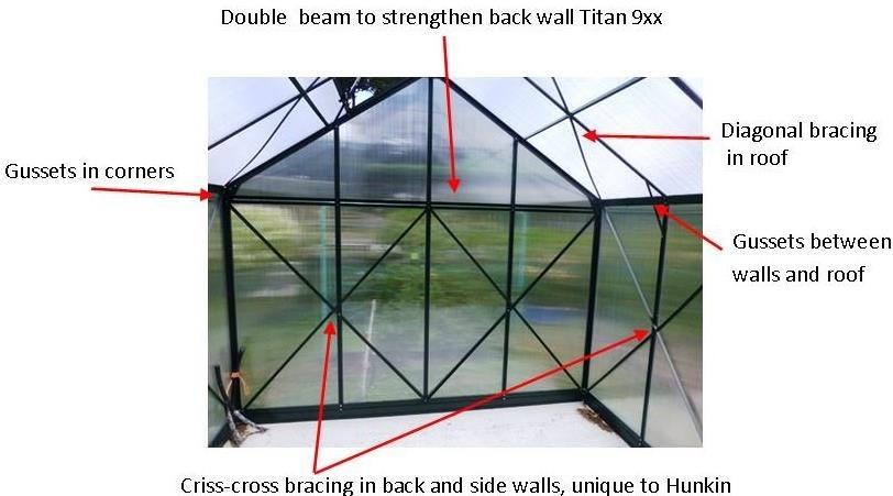 Greenhouses NZ   Hunkin Garden Titan series   Glasshouses